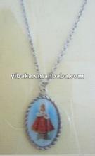 Fashion Religious Enamel Pendant