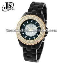 JS118 stainless steel diamond watches fashion lady watch