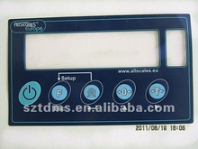 PC OR PET graphic overlay faceplate