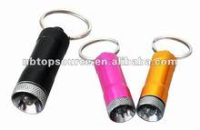 Aluminum LED keychain light