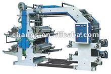 Automatic bopp film flexo printing machine