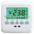 Wst08ah semanal programable de calefacción del termostato de ambiente