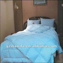 blue color soft 10% duck down duvet for home