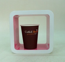 7.5oz Eco-friendly Single Wal Paper Cup For Hot Coffee