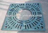 China factory spheroidal graphite cast iron tree grating