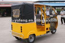 Diesel engine rickshaw for passenger