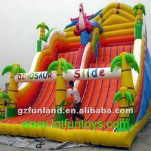 Inflatable Bouncer Game - Dinosaur Bouncy Slide.