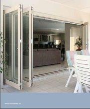 High quality double glazing aluminium bifold door&bifold shower door&exterior bifold door