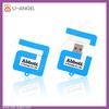 Factory Selling Cheapest OEM USB Memory Drive 4gb PVC Material USB Flash Drive