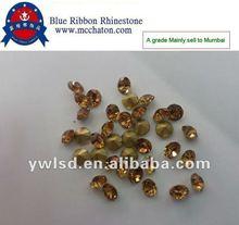 LCT color rhinestone glass chaton 888 copy stone