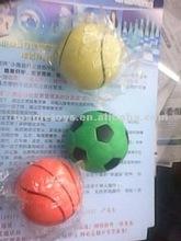 rubber bounce ball/rubber football ball