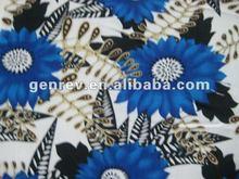 100% rayon&viscose printed fabric