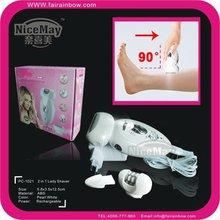 2 in 1 LED lighted hair Epilator for men and women
