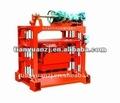 Machine comprimée QTJ4-40B2, opération manuelle de brique
