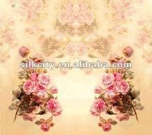 Popular Print Colorful Silk Satin Fabrics Manufacturers
