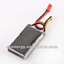 Using for Walkera, Lipo batteries with 500Mah 25C 7.4V