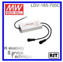 LDV 185 700C Mean well waterproof 185W 48V LED Power supply