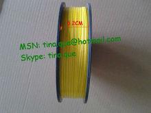 PE Twist Tie Roll Yellow/ PVC Twist Tie/ Plastic Tie