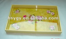 Disposable Rectangle Plastic Tray