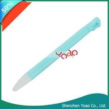 For 3DS Plastic Retractable Stylus Pen Light Blue