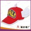 2012 cute angel kids flat peak cap
