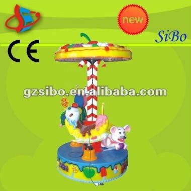 GMKP-21 kids entertainment center, entertainment equipment machine, carousel ride animals