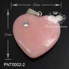 2012 Fashion Gemstone Designer Heart Pendant