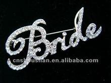 Bride rhinestone pin brooch collectable memory