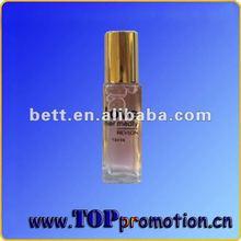 2013 new design roller ball perfume glass bottle