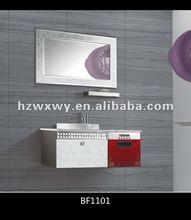 2012 New design white bathroom furniture