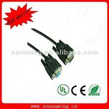 VGA monitor HD15M/HD15F dual-shielded 6ft (1.8m) cable