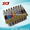 Cartucho de tinta compatible para epson t0341/t0342/t0343/t0344/t0345/t0346/t0347/t0348