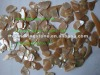 polished mop shell chips