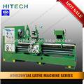 Hitech c6250b horizontal torno convencional normal gap torno cama de la máquina/gapbed tornos/tornos de silla de montar