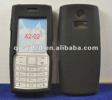 Mobile phone silicon case for nokia X2-02