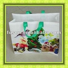 pp woven laminated shopper bag