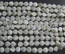 2012 fashion 8X12mm chinese freshwater shell strand