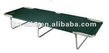 metal camping bed