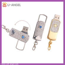 Shenzhen factory wholesale USB flash drives,stylish jewelry diamond 32gb USB memory stick