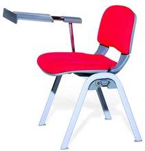 Ct-838สีแดงสบายเก้าอี้แขนแท็บเล็ต