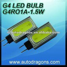 1.5w No polar G4 LED Lights bulb high brightness white