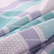 Polyester Fabric-Pigment Printing / cotton quilt cover / bedsheet fabric/ flower bedsheet