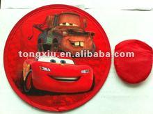 2012 promotional dog frisbee toys
