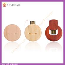 factory selling Racket USB flash drive,Bamboo rotating USB flash drive 16gb