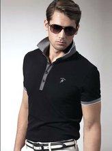 good quality cheap black mens polo t shirts