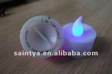 sy electrónico led luz del té vela moldes