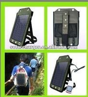 Factory Saled 5.5V Solar Back Pack /Mp3 Mp4 Mobilephone Soalr Charger Back Pack