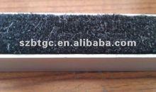aluminum entrance mat insert brush or rubber