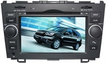 Two din car DVD for Honda CR-V (2007-2010), with BT/AM,FM/TV/USB