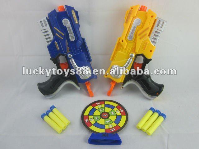 รูปแบบใหม่ปืนของเล่นยิงเป้านุ่ม